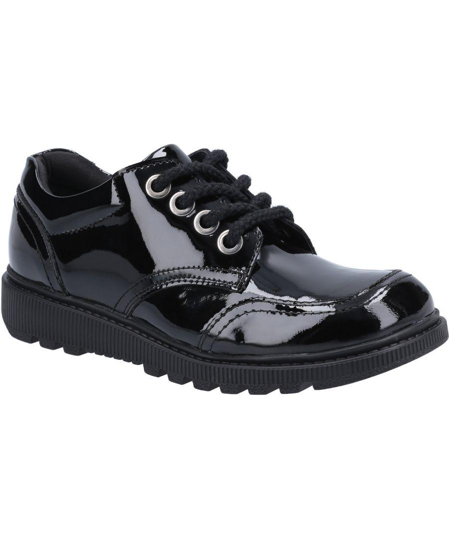 Image for Kiera Junior Patent School Shoe