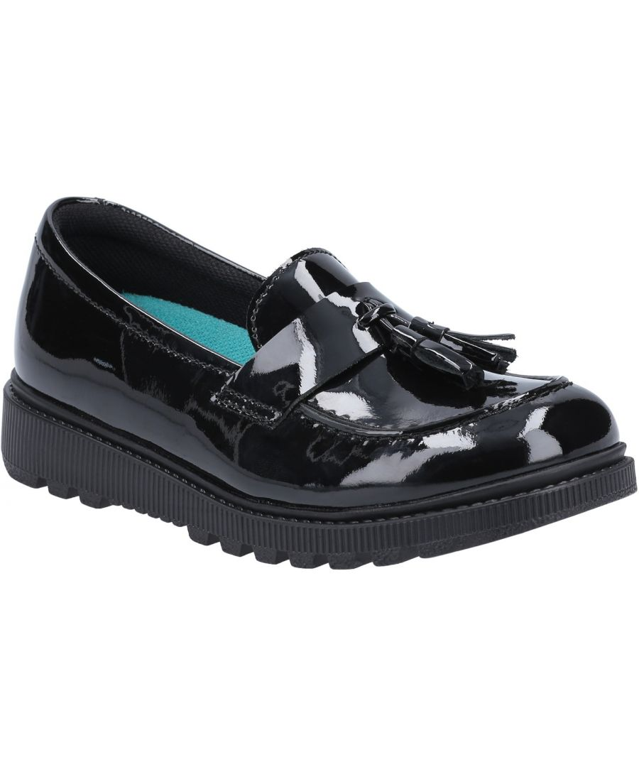 Image for Karen Patent Senior School Shoe