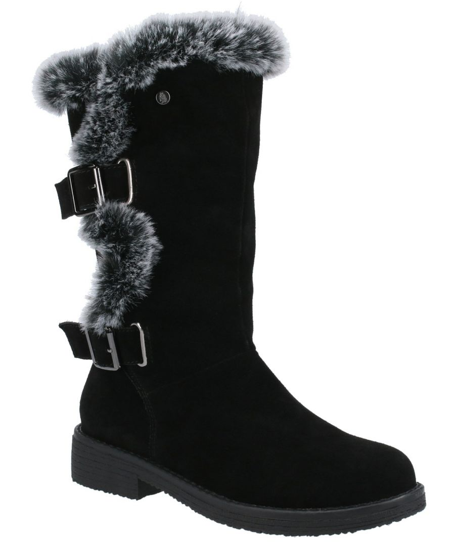 Image for Megan Ladies Mid Boots