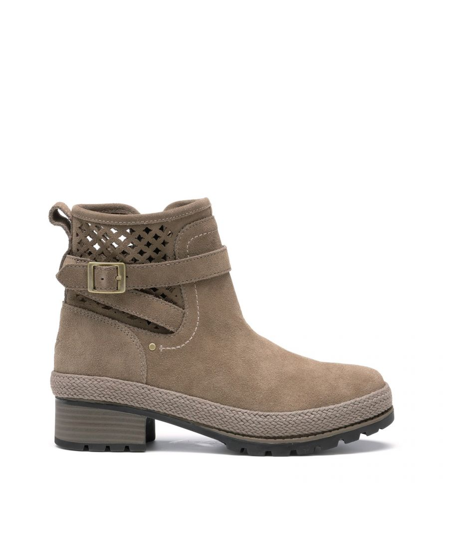 Image for Liberty Perforated Leather Boots