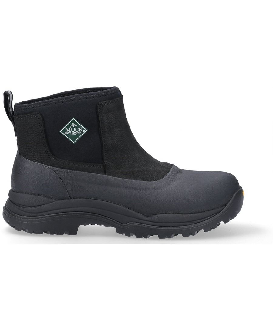 Image for Arctic Outpost Leather Vibram Grip Ankle Boots