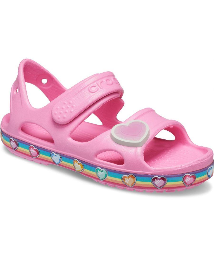 Image for Crocs Fun Lab Rainbow Sandal
