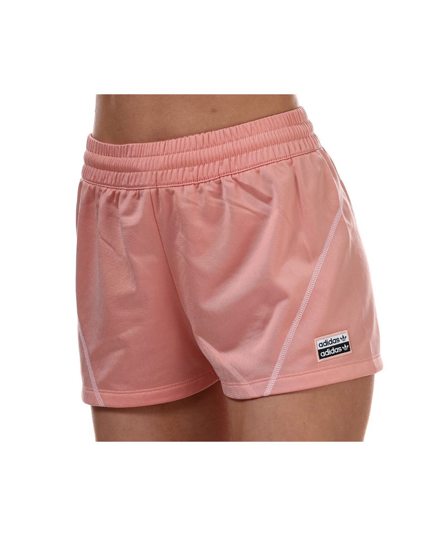 Image for Women's adidas Originals R.Y.V. Shorts Pink 4in Pink