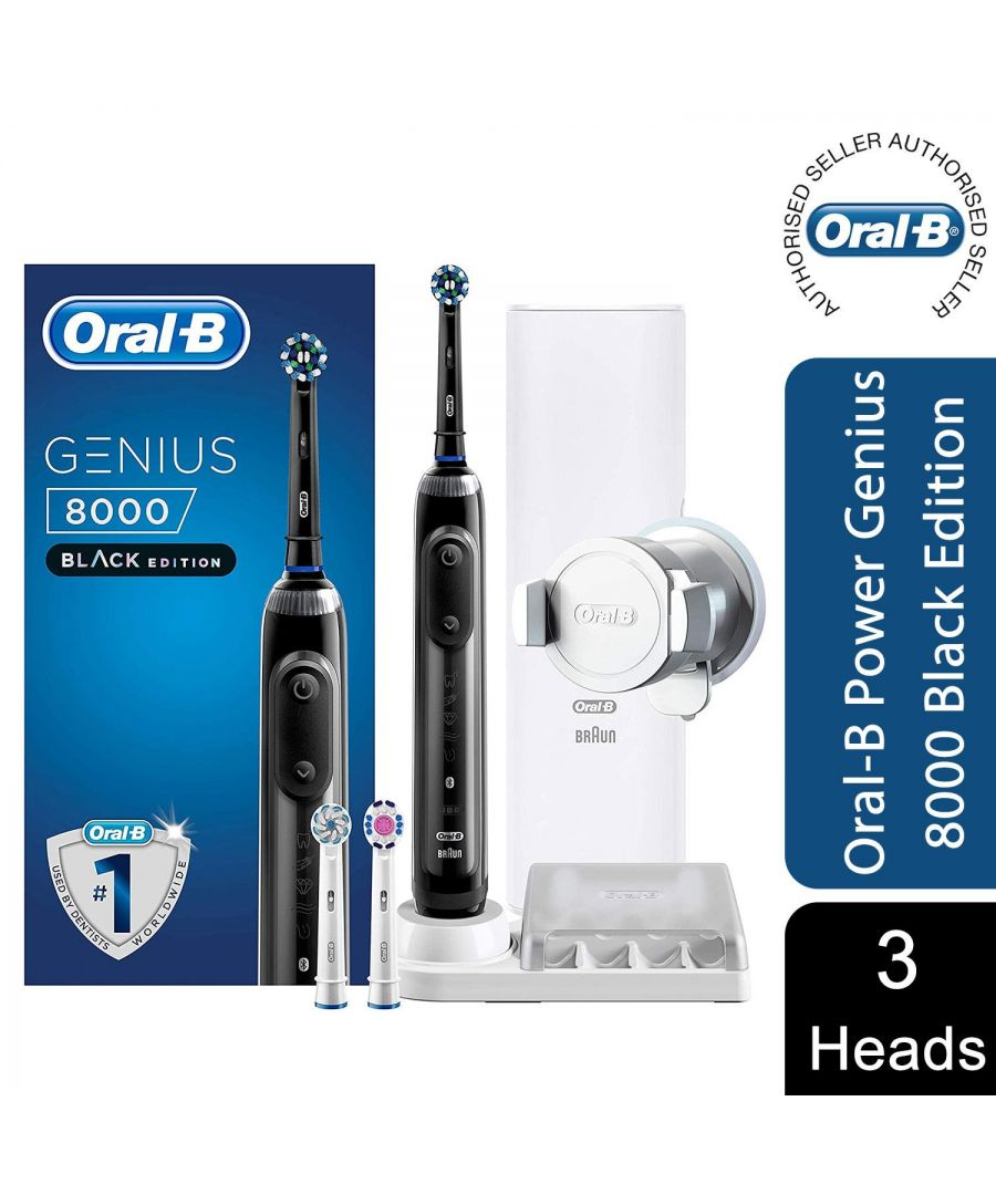 Image for Oral-B Genius 8000 Rechargeable Electric Deep Clean Toothbrush Black