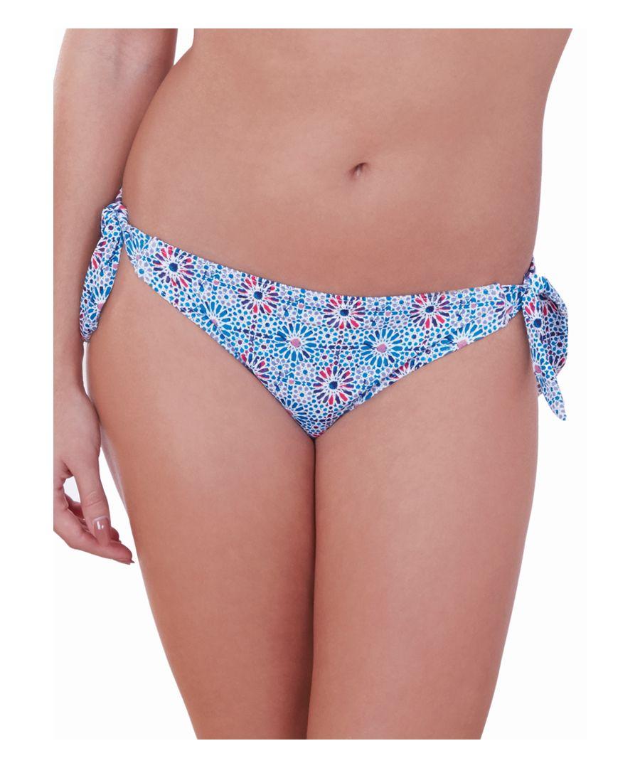 Image for Geo Star Side Tie Bikini Brief