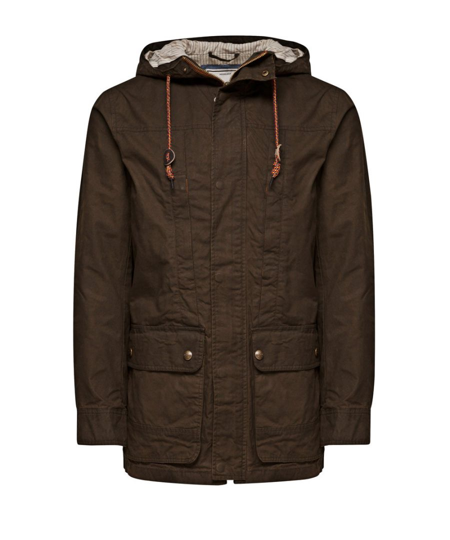Image for Jack and Jones Gerard Parka Dark Green Jacket