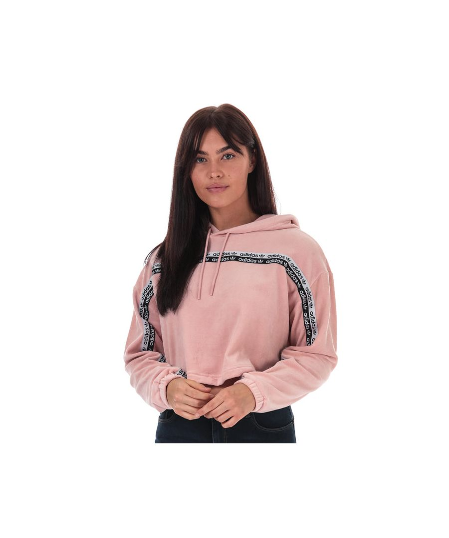 Image for Women's adidas Originals Cropped Hoody in Pink