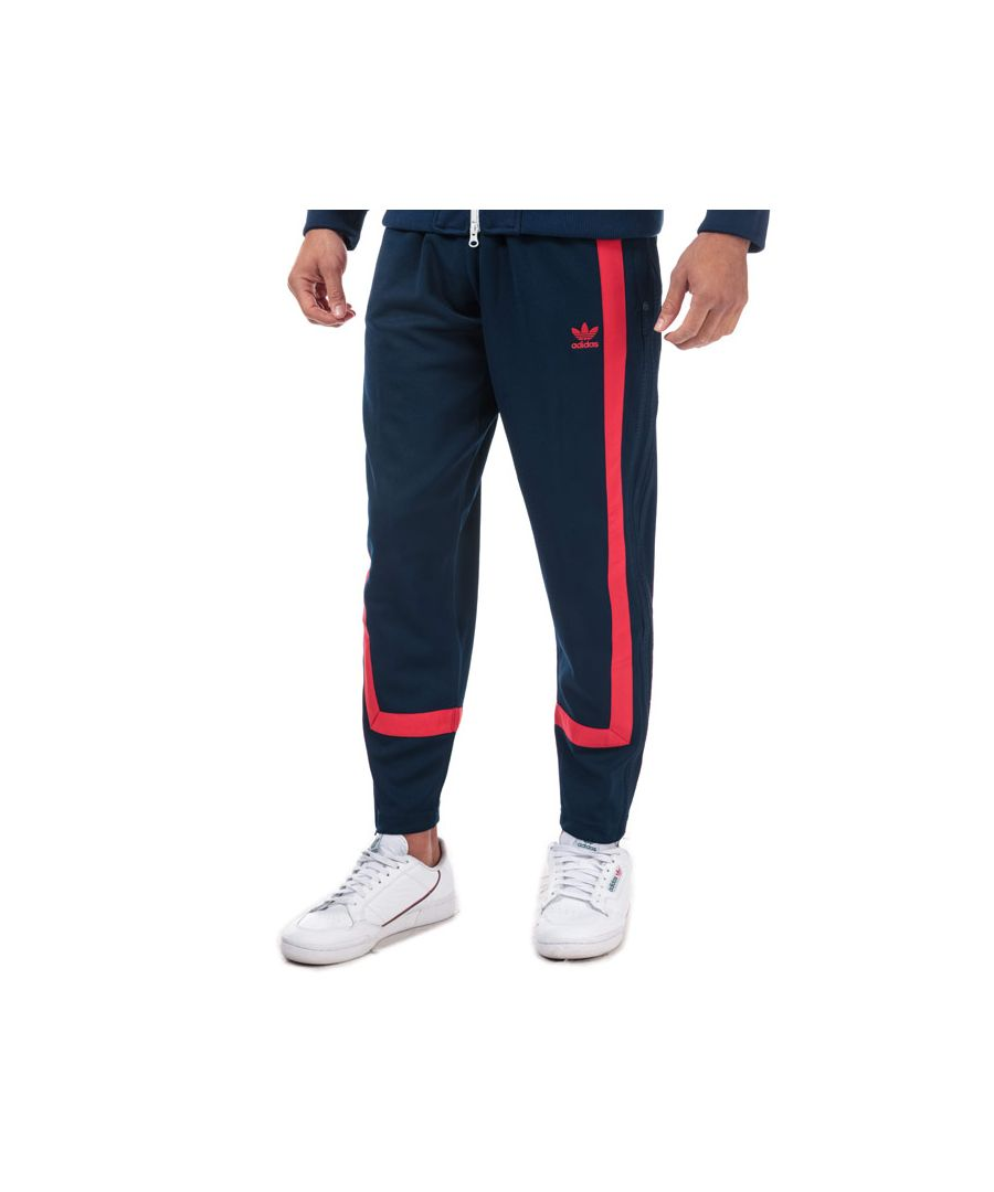 Image for Men's adidas Originals Warm-Up Tracksuit Bottoms in Navy