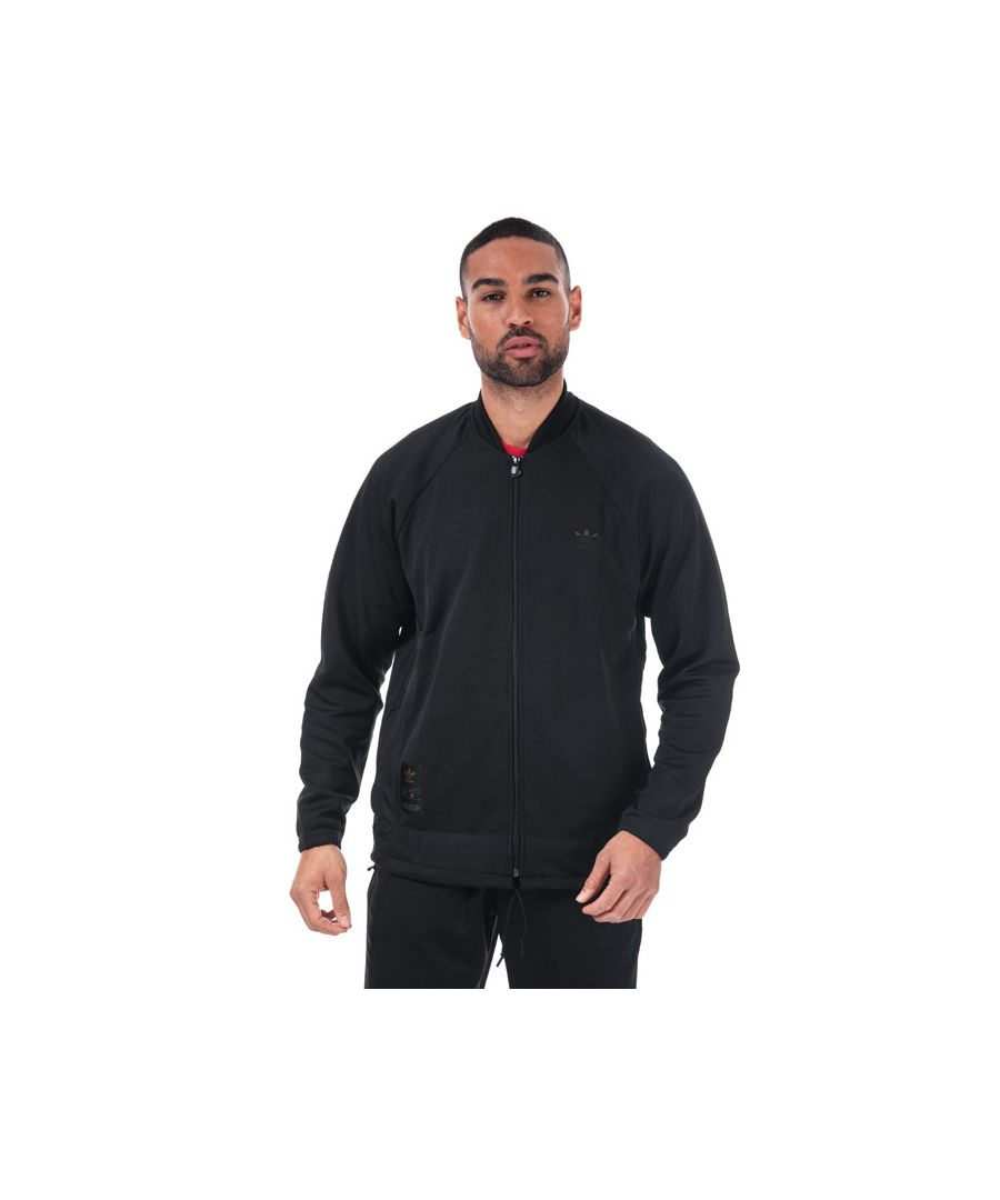 Image for Men's adidas Originals Warm-Up Track Top in Black