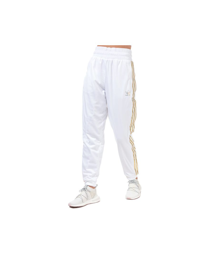 Image for Women's adidas Originals SST 2.0 Tracksuit Bottoms in White