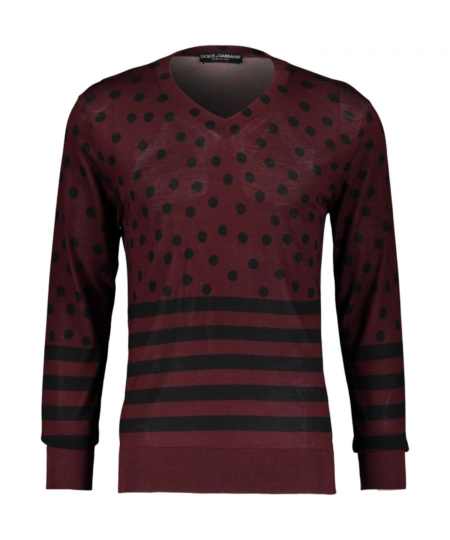 Image for Dolce & Gabbana GL233K F56AC X0809  Crew Neck Jumper