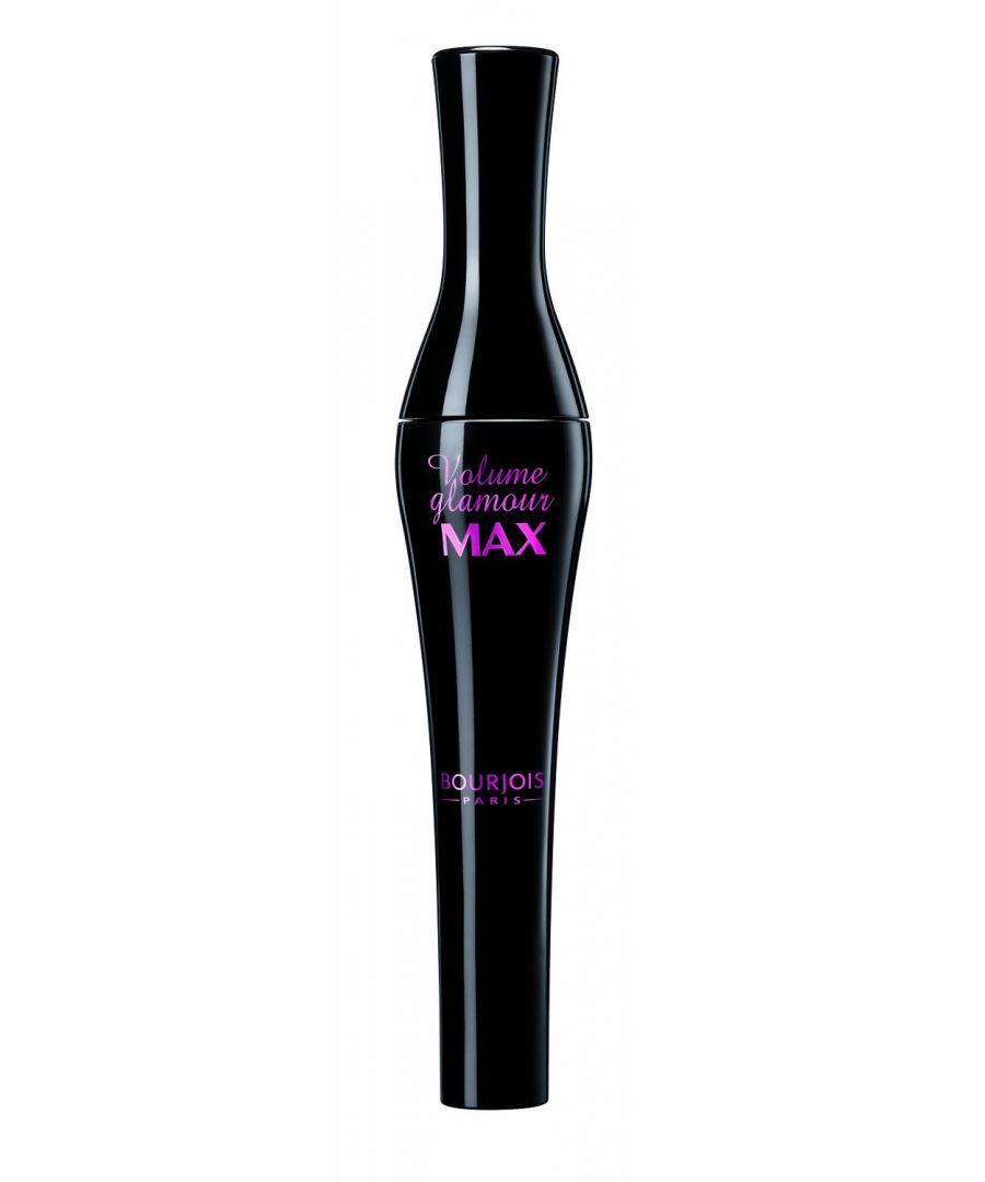 Image for Bourjois Paris Volume Glamour Max Mascara Noir Max Black 10ml
