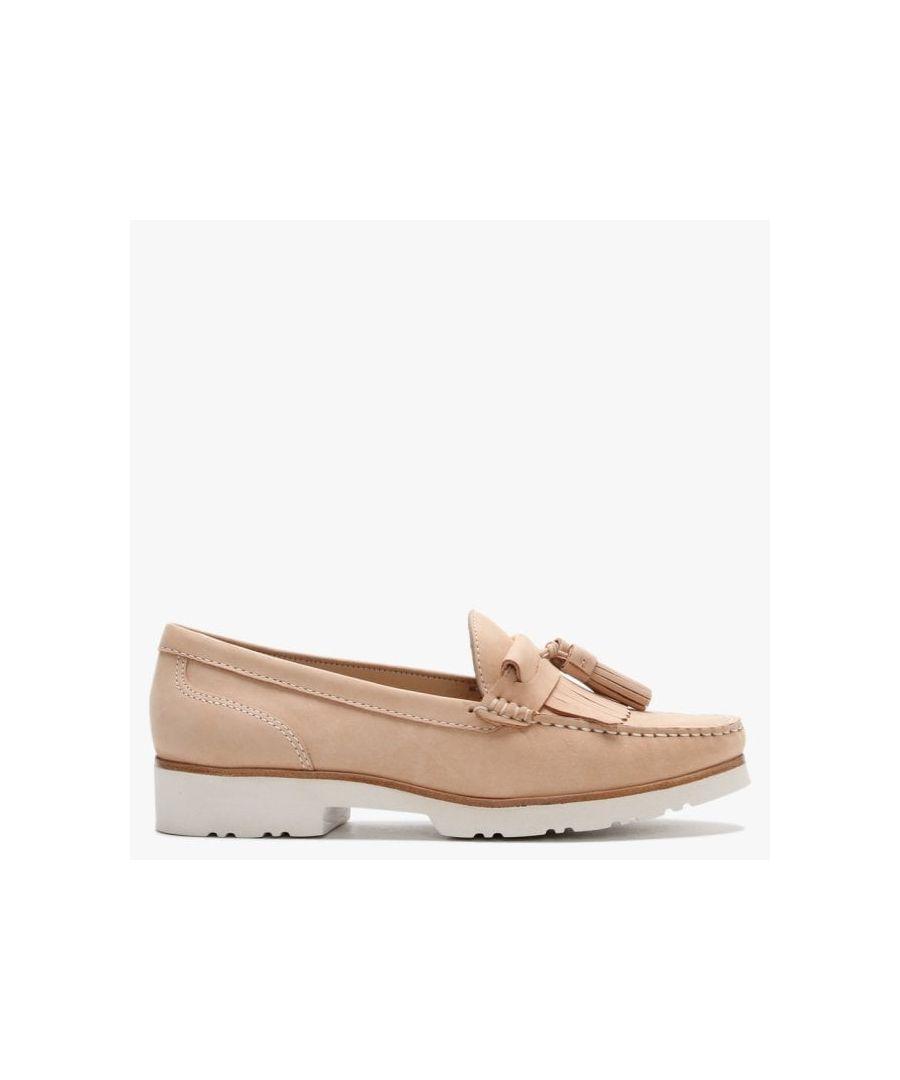Image for Daniel Glitto Nubuck Leather Tassel Loafers
