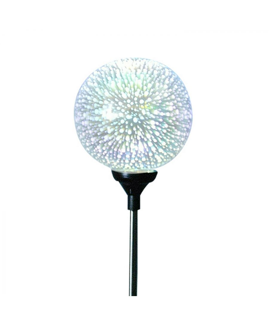 Image for Haven Plastic Solar Garden 3D Globe Light