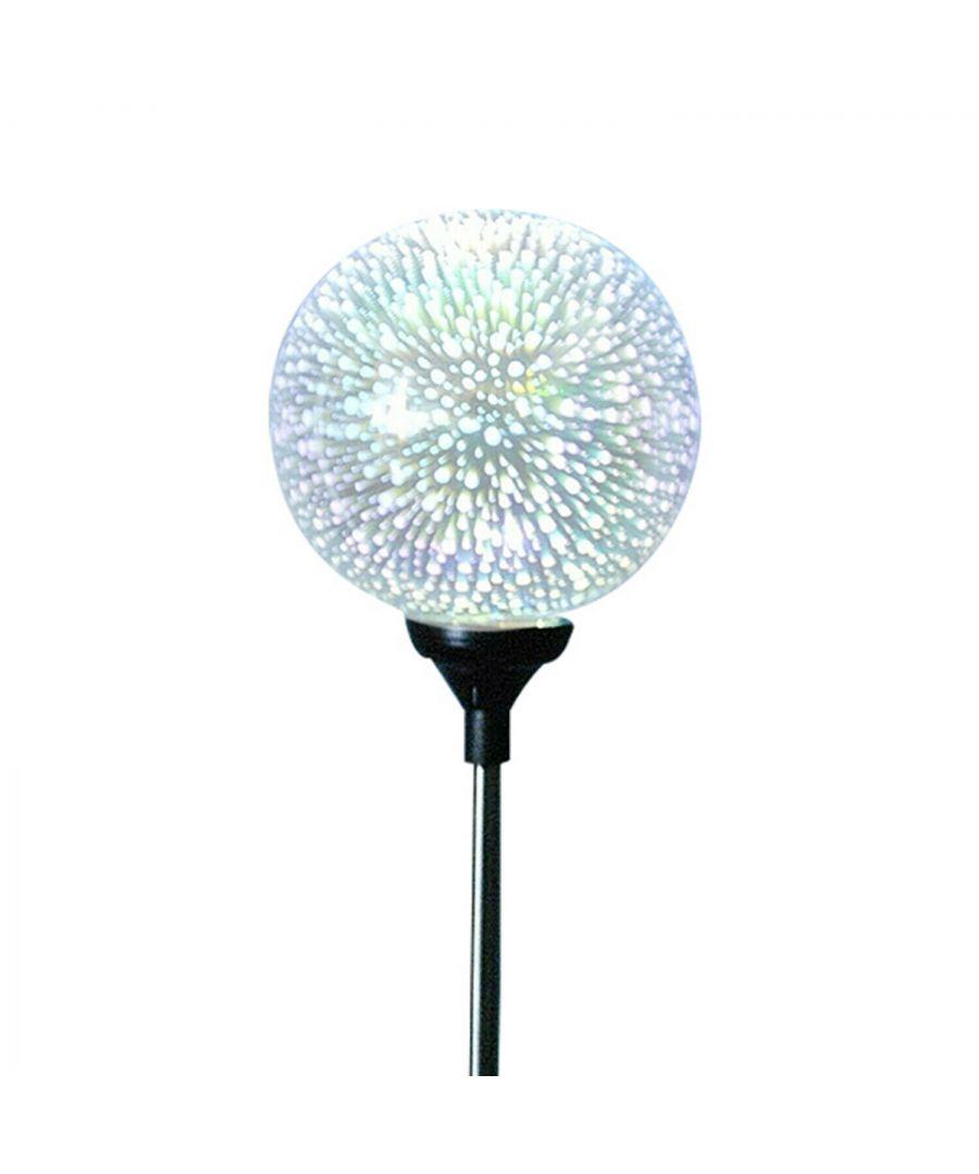 Image for Haven Plastic Solar Garden 3D Globe Light