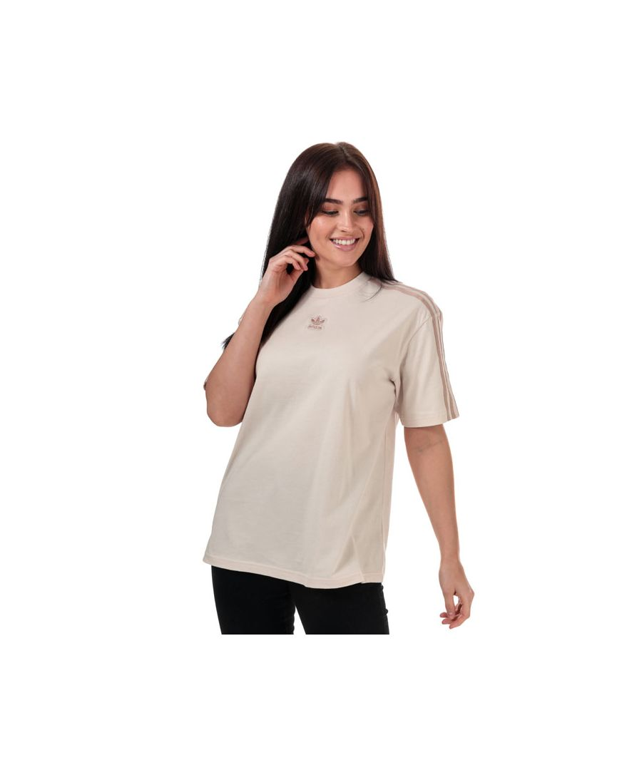 Image for Women's adidas Originals Oversized T-Shirt in Natural