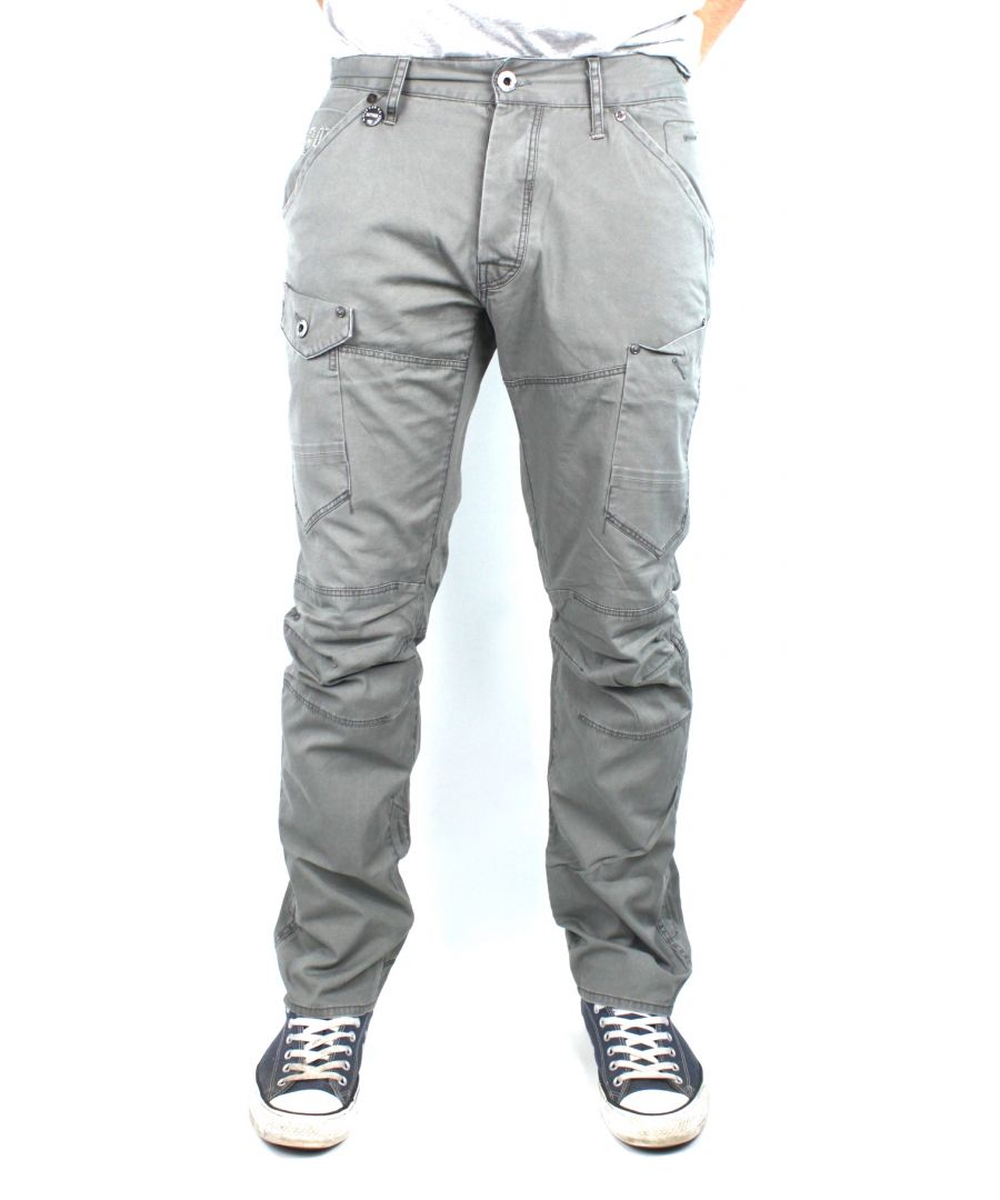 Image for G-Star General 5620 Tapered Back Embro Rugby Wash Arizona Denim Jeans