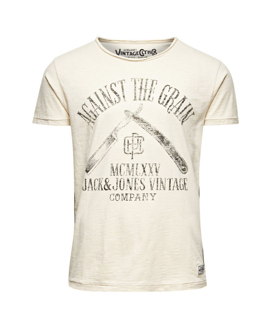 Image for Jack and Jones Good Times Tee White T-Shirt