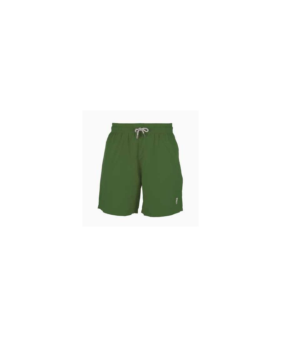 Image for Boy's Green Swim Shorts