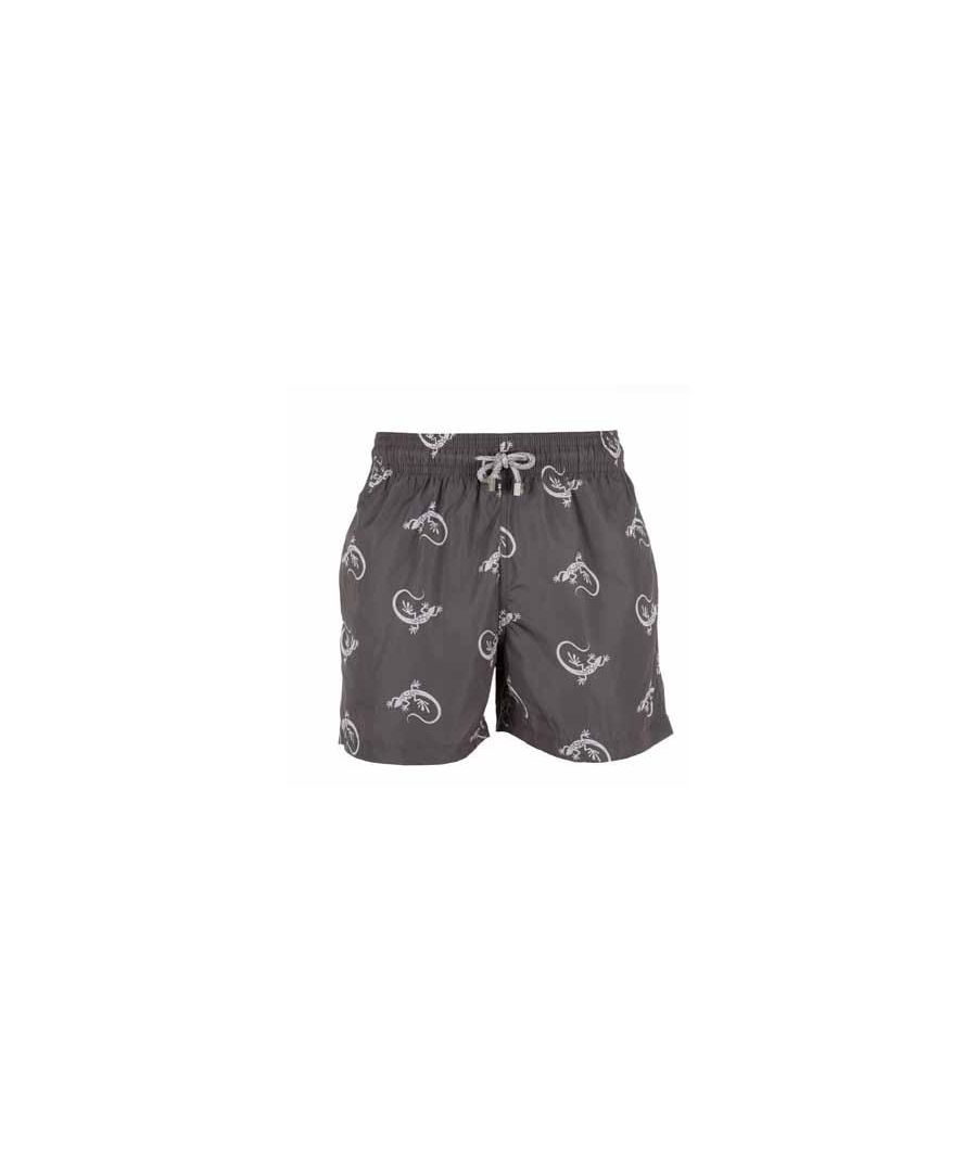 Image for Boys Grey Gecko Swim Shorts
