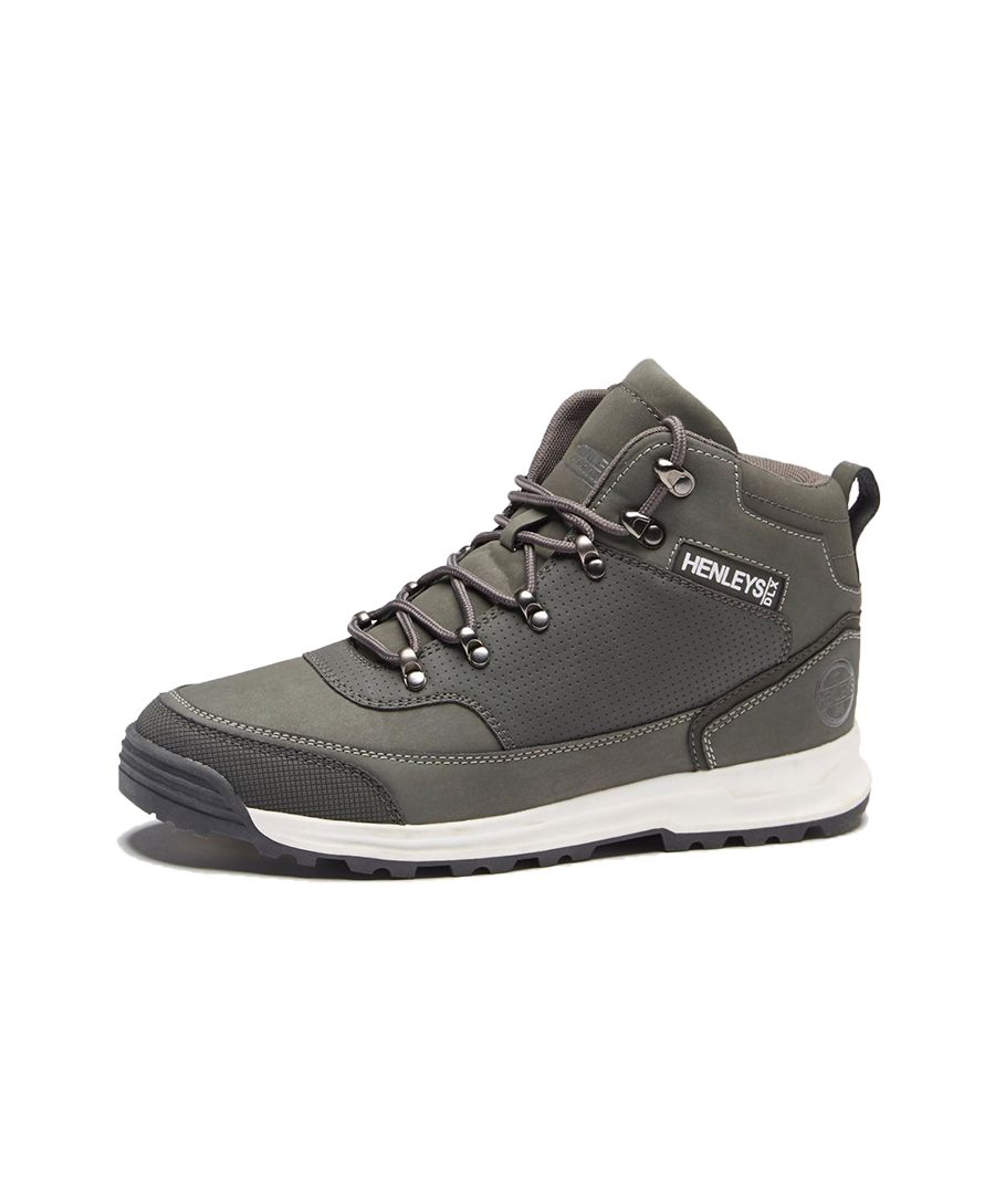Image for Men's Henleys Paler Walking Boots, Charcoal