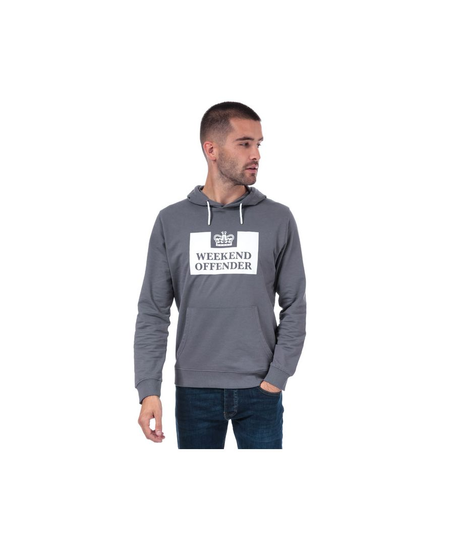 Image for Men's Weekend Offender Kirin Logo Hoody in Grey
