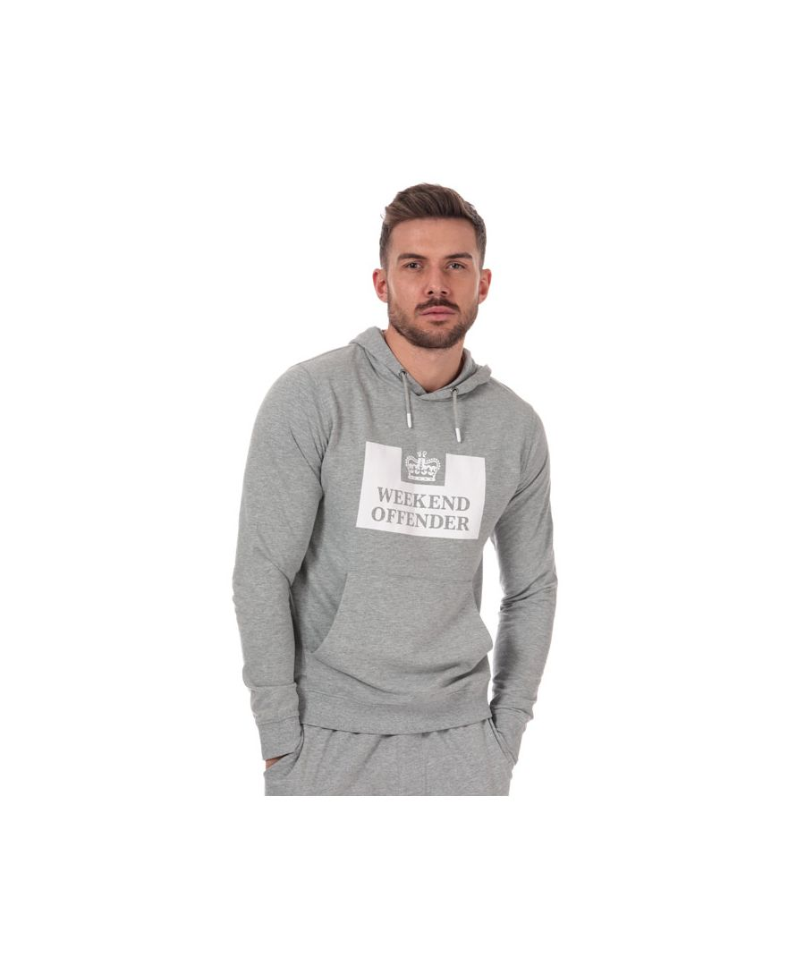 Image for Men's Weekend Offender Soeento Hoody in Grey