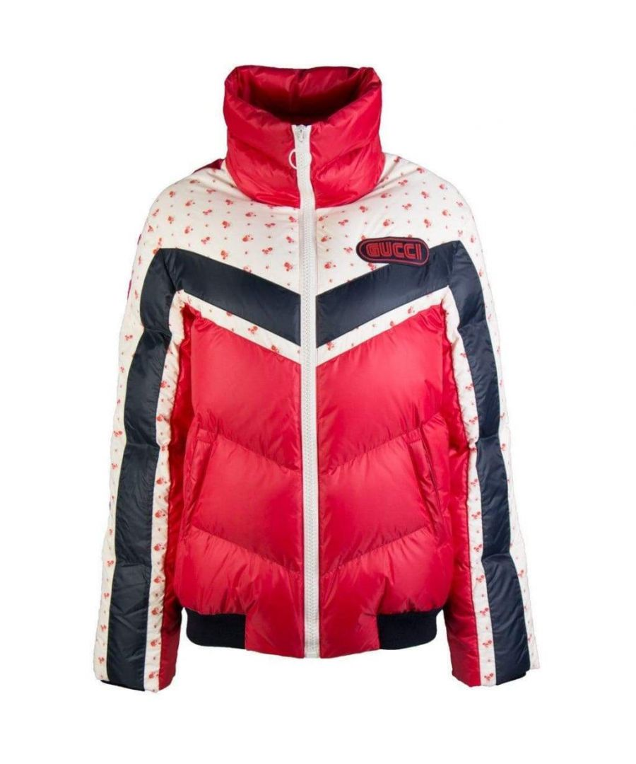 Image for Gucci Nylon Bomber Down Jacket