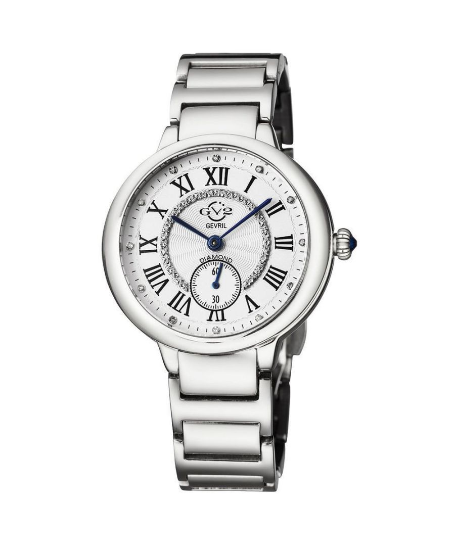 Image for GV2 Rome Womens Silver Dial Stainless Steel Watch