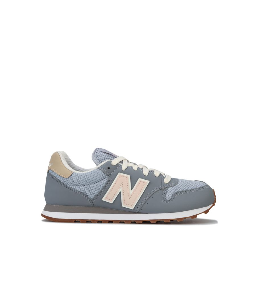 Image for Women's New Balance 500 Trainers in Grey