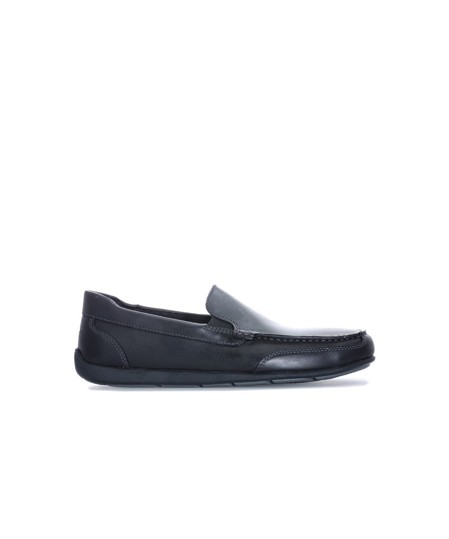 Image for Men's Rockport Bennett Lane 4 Venetian Slip On Shoes in Black