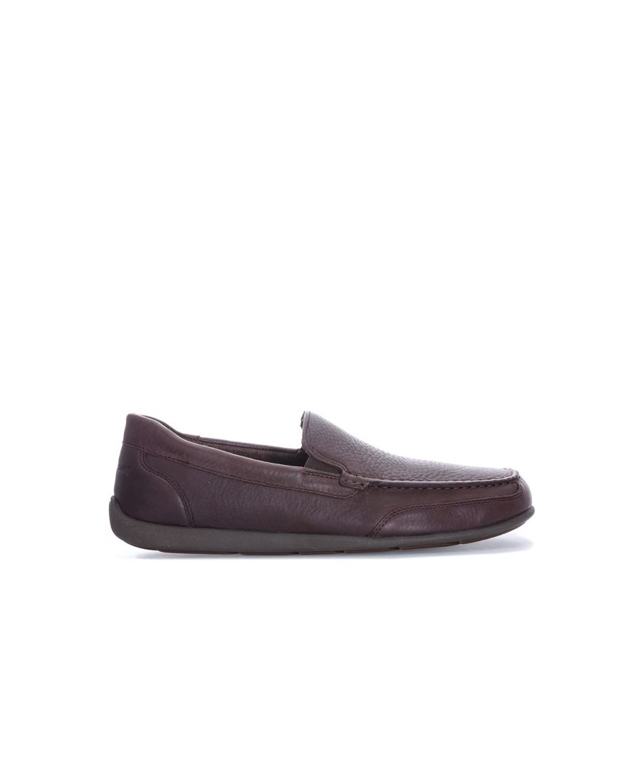 Image for Men's Rockport Bennett Lane 4 Venetian Slip On Shoes in Brown