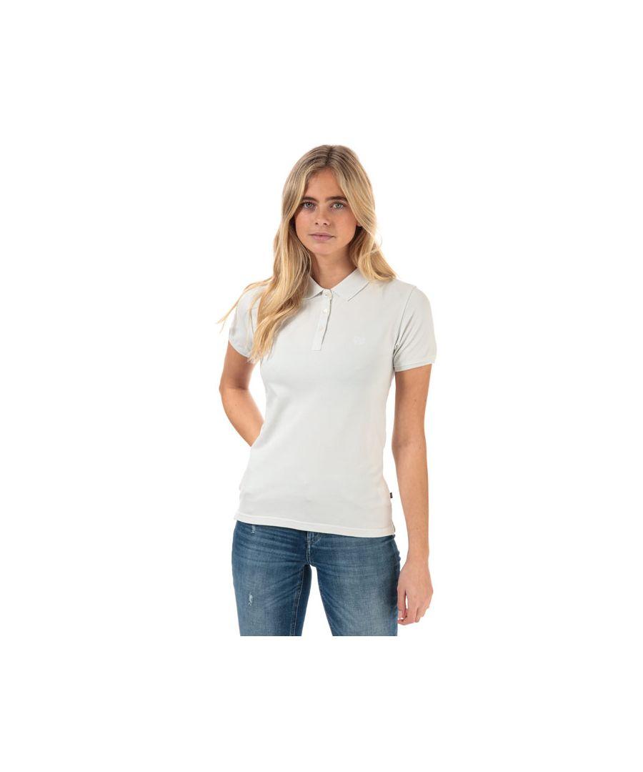 Image for Women's Henri Lloyd Summer Stretch Piquet Polo Shirt in White