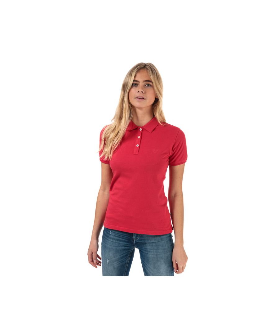 Image for Women's Henri Lloyd Summer Stretch Piquet Polo Shirt in Raspberry