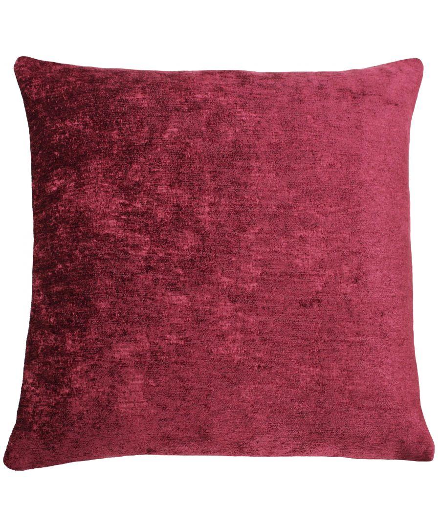 Image for Hampton 50X50 Poly Cushion Claret