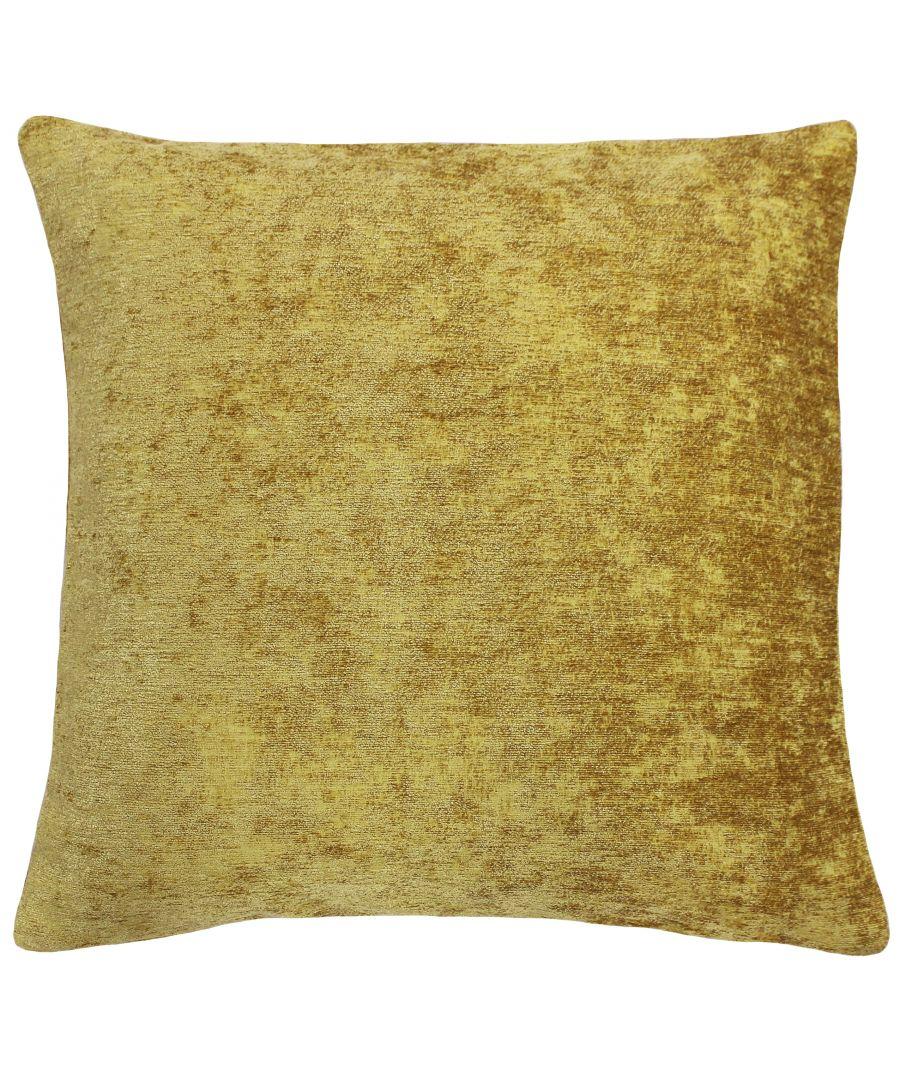 Image for Hampton 50X50 Poly Cushion Ochre