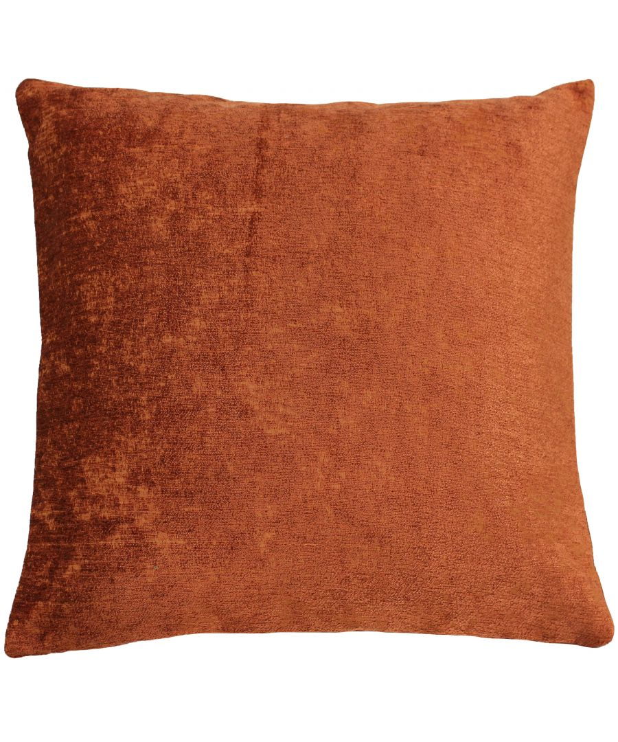Image for Hampton 50X50 Poly Cushion Pumpkin