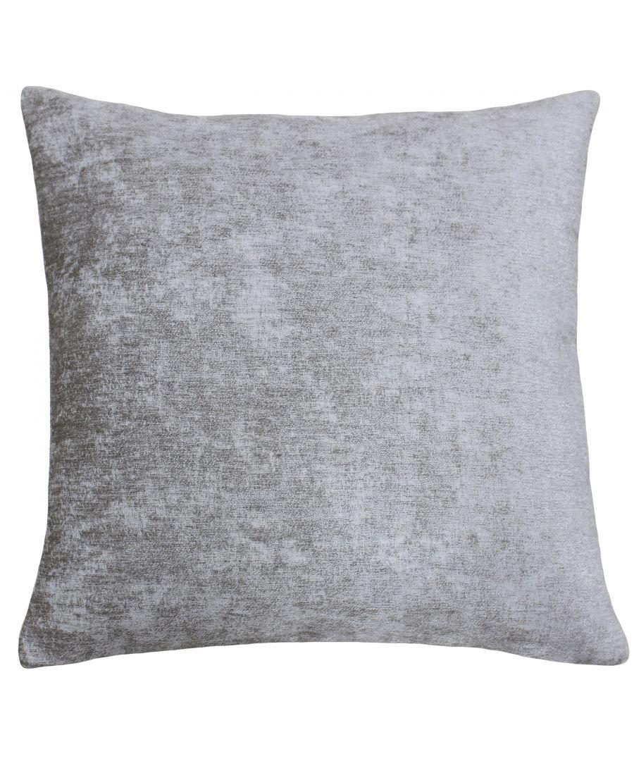 Image for Hampton 50X50 Poly Cushion Silver
