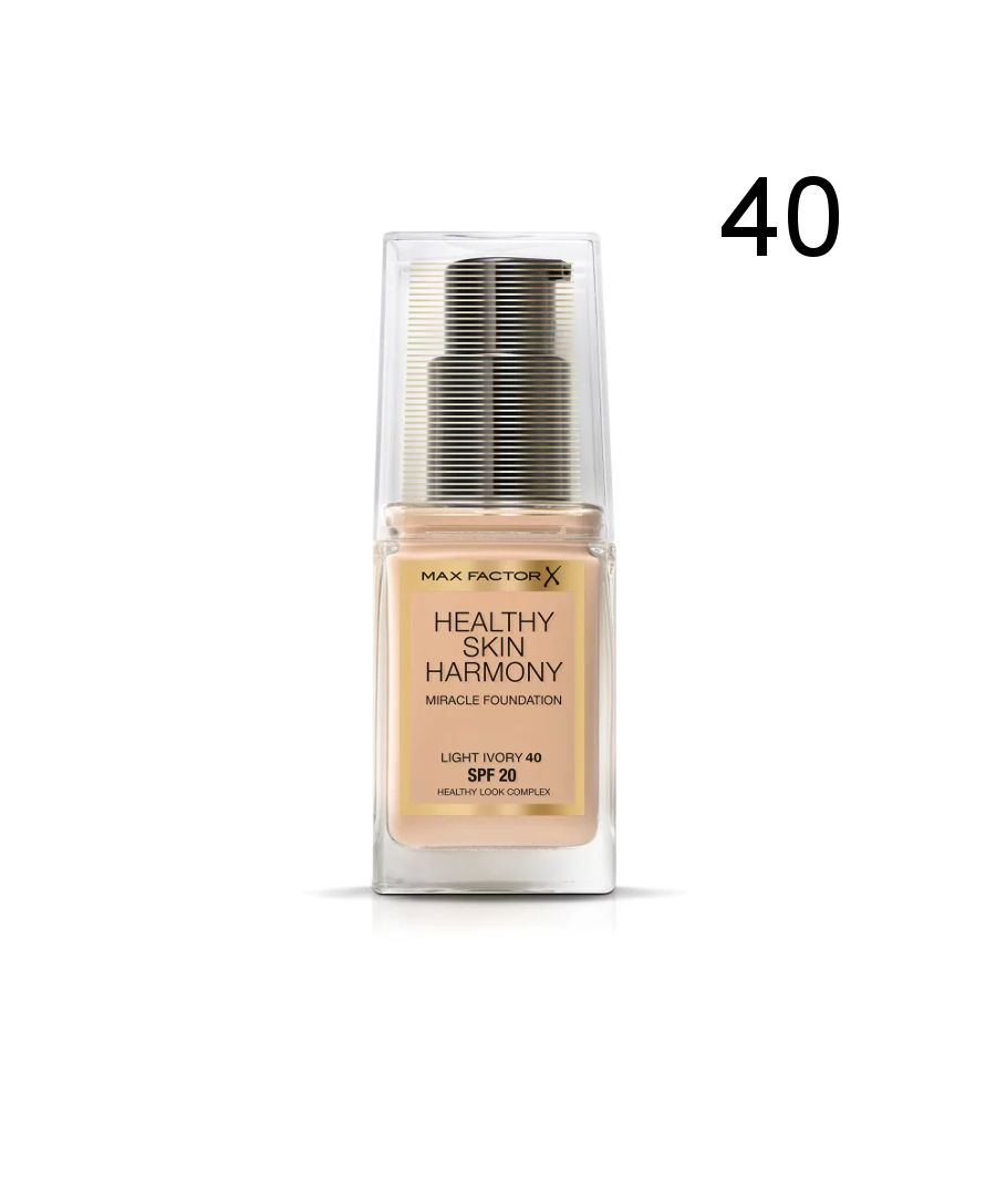 Image for Max Factor Healthy Skin Harmony Miracle Foundation - 40 Light Ivory
