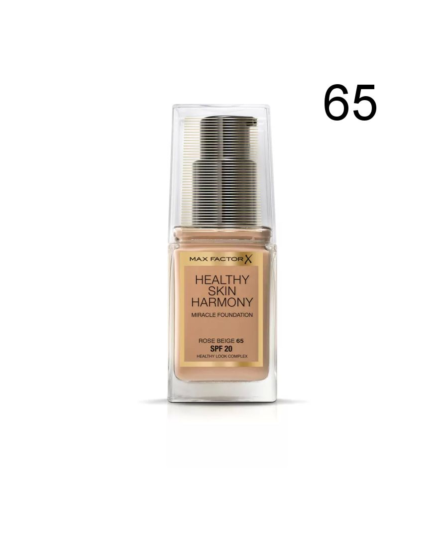 Image for Max Factor Healthy Skin Harmony Miracle Foundation - 65 Rose Beige