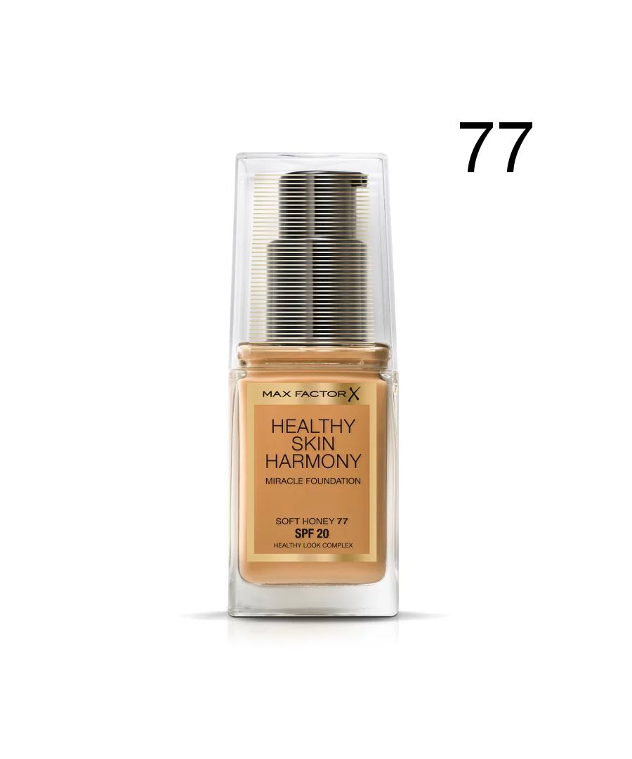 Image for Max Factor Healthy Skin Harmony Miracle Foundation - 77 Soft Honey