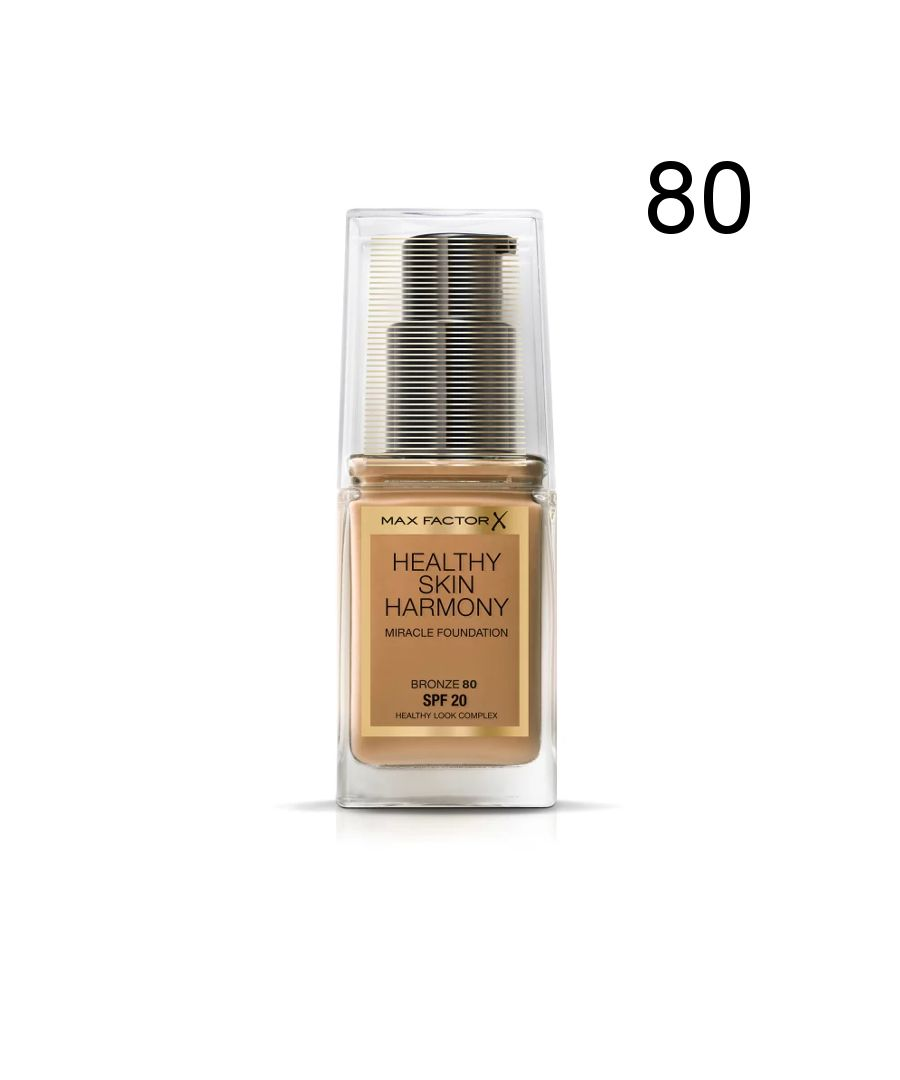 Image for Max Factor Healthy Skin Harmony Miracle Foundation - 80 Bronze