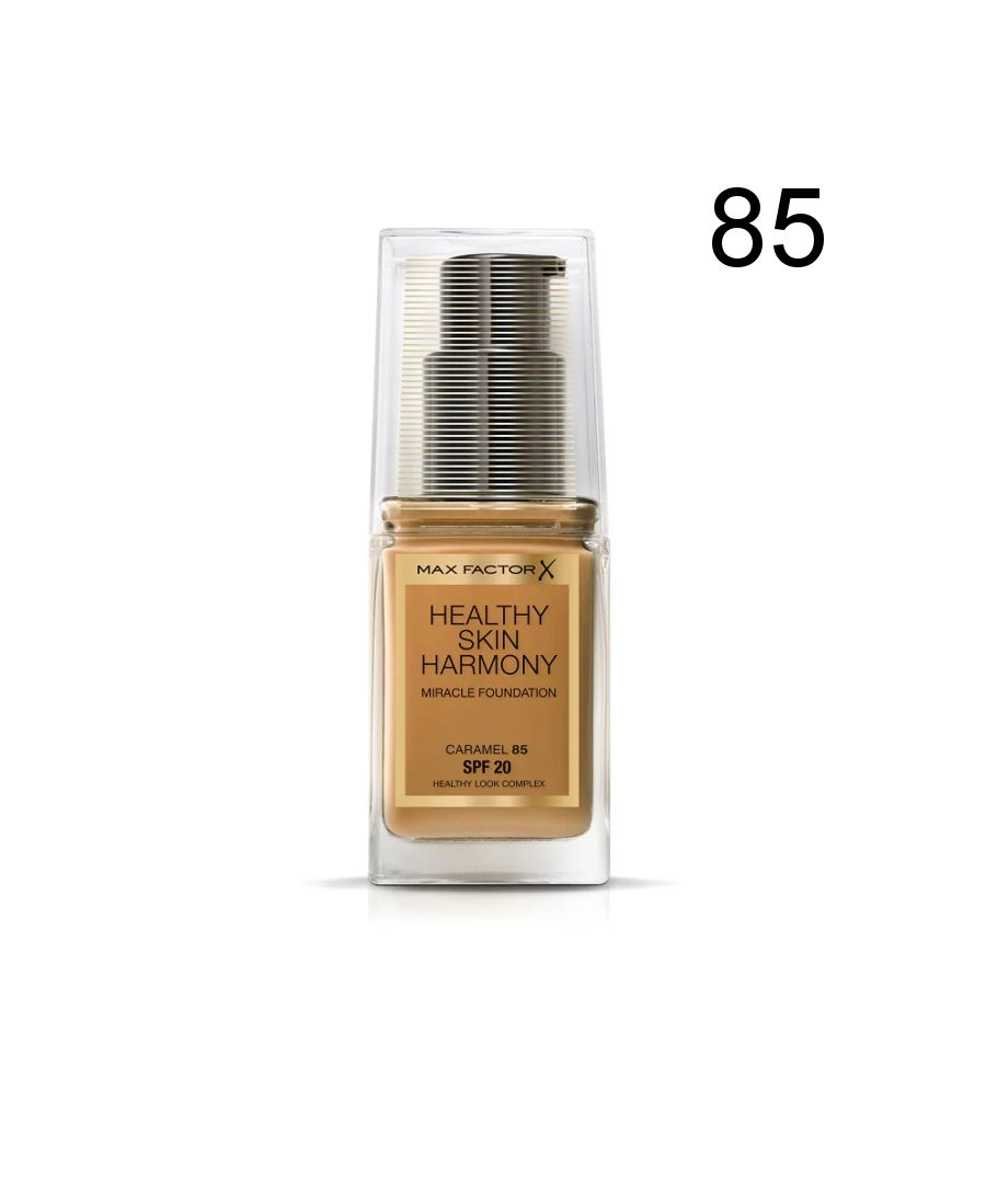Image for Max Factor Healthy Skin Harmony Miracle Foundation - 85 Caramel