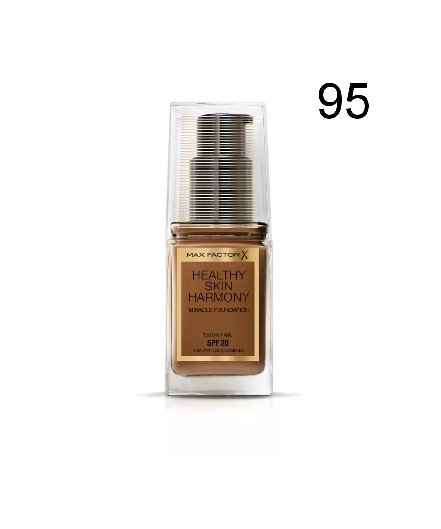 Image for Max Factor Healthy Skin Harmony Miracle Foundation - 95 Tawny