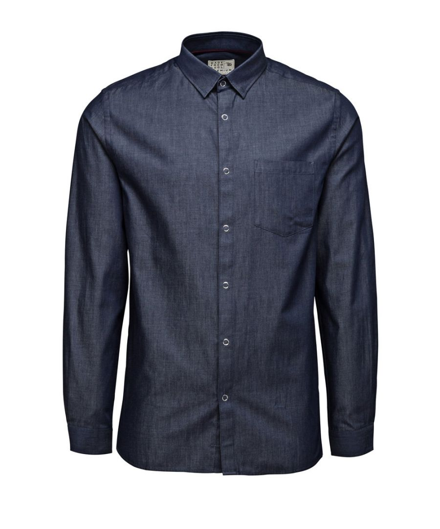 Image for Jack and Jones Harry Navy Blue Casual Shirt