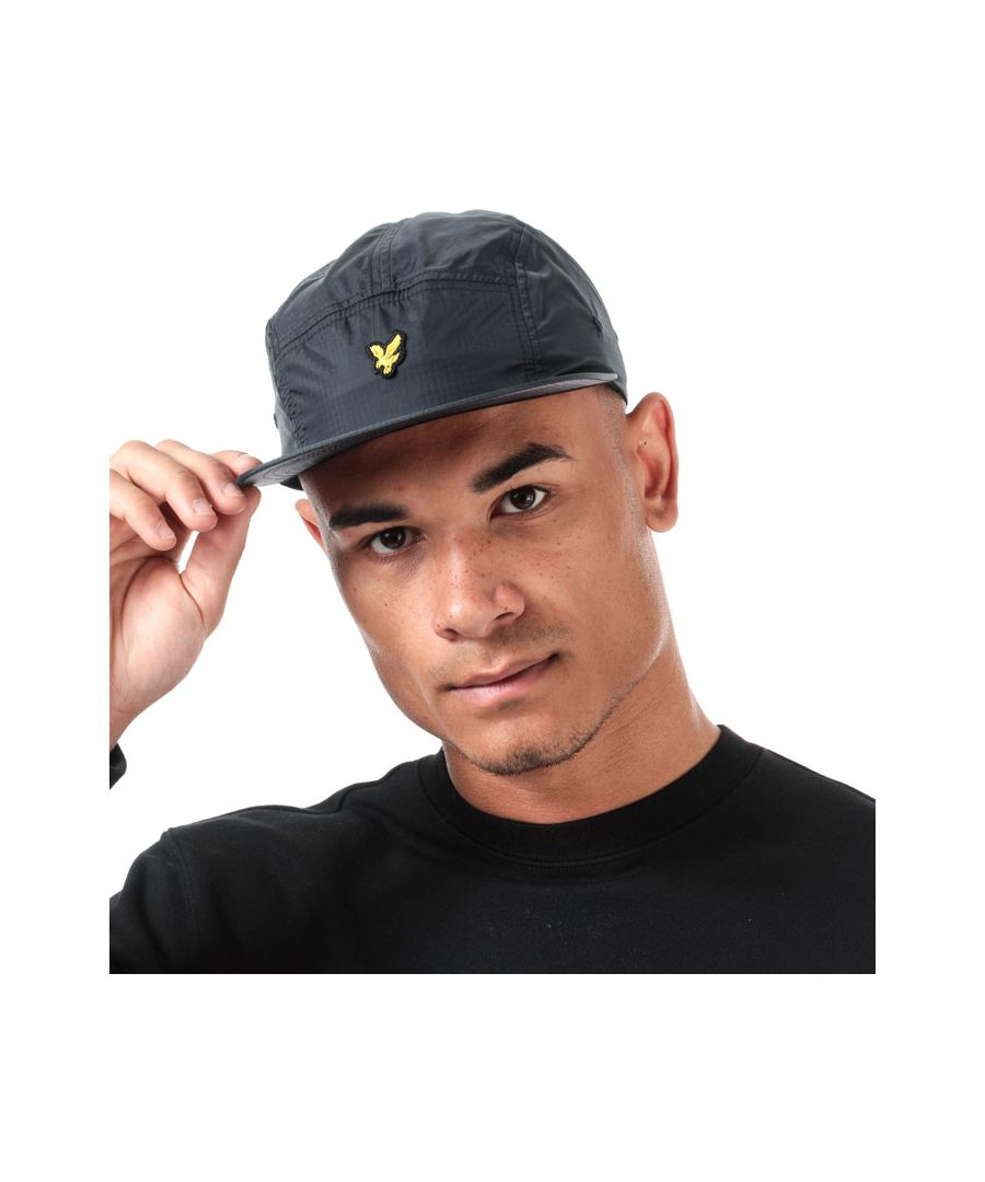 Image for Accessories Lyle And Scott Ripstop 5 Panel Cap in Grey