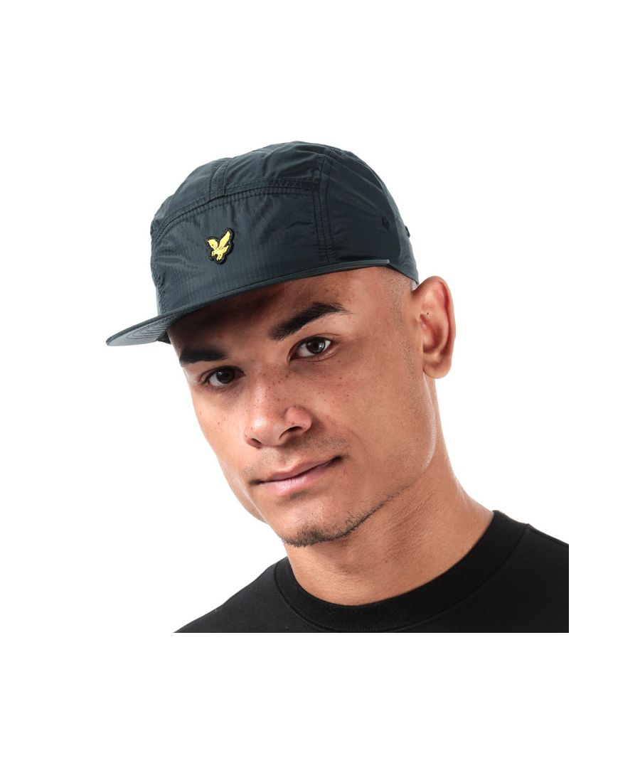 Image for Accessories Lyle And Scott Ripstop 5 Panel Cap in Navy