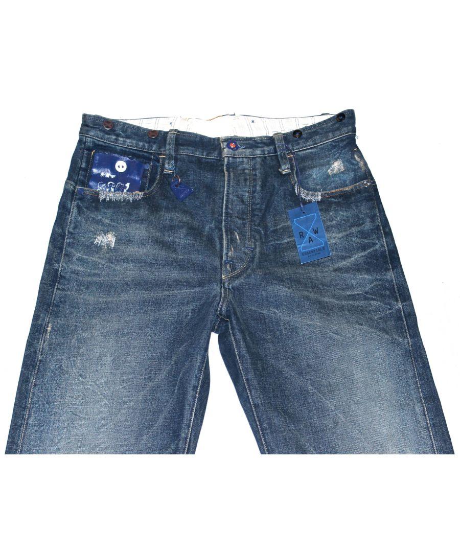 Image for G-Star Hank Grunge Wash Essential Fairway Jeans