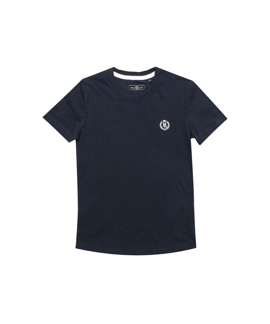 Image for Boy's Henri Lloyd Junior Radar T-Shirt in Navy