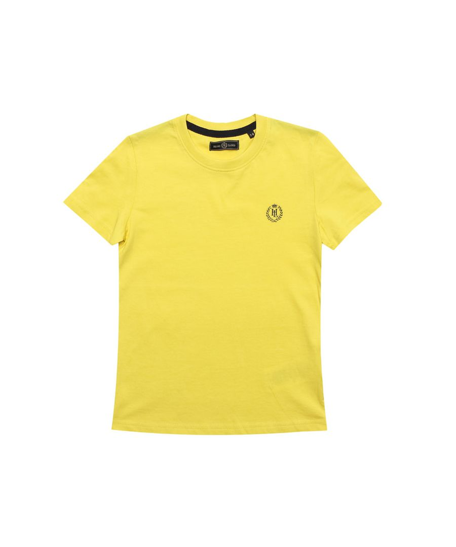 Image for Boy's Henri Lloyd Infant Radar T-Shirt in Yellow